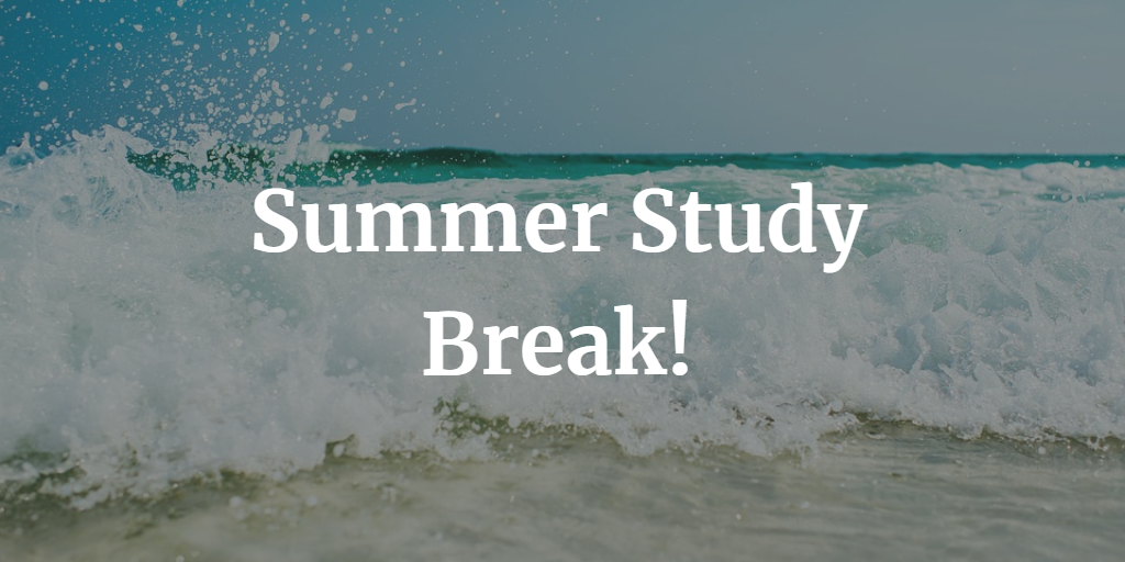Summer Study Break.  Will be Back in Early August.